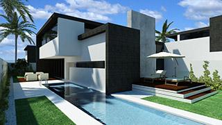 Constructora marbella casas modernas con fhs casas - Casas con parcela baratas cerca de madrid ...